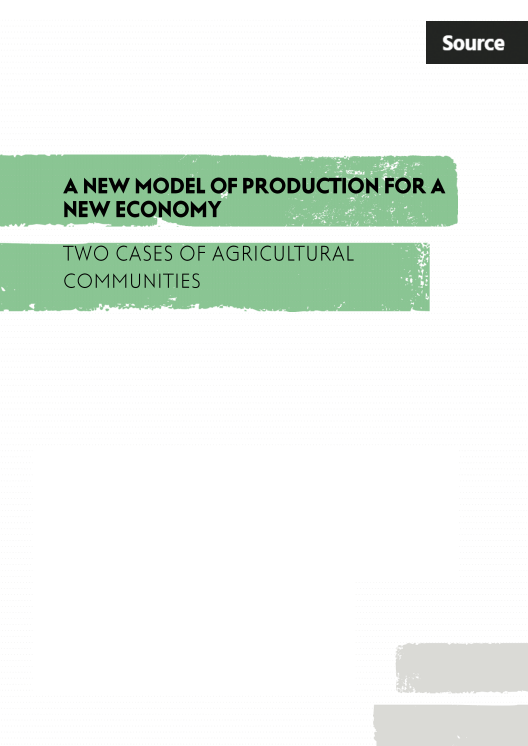 A New Model of Production for a New Economy